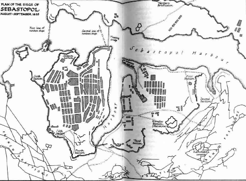Карта Крыма 1924 год